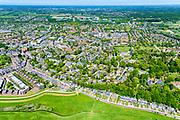 Nederland, Gelderland, Wageningen, 13-05-2019; zicht op Wagening met Veerweg, vanaf de Neder-rijn<br /> View of  Wageningen.<br /> <br /> luchtfoto (toeslag op standard tarieven);<br /> aerial photo (additional fee required);<br /> copyright foto/photo Siebe Swart