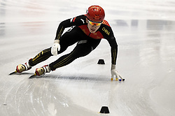 February 8, 2019 - Torino, Italia - Foto LaPresse/Nicolò Campo .8/02/2019 Torino (Italia) .Sport.ISU World Cup Short Track Torino - 1500 meter Men Quater Finals.Nella foto: Kongchao Li..Photo LaPresse/Nicolò Campo .February 8, 2019 Turin (Italy) .Sport.ISU World Cup Short Track Turin - 1500 meter Men Quater Finals.In the picture: Kongchao Li (Credit Image: © Nicolò Campo/Lapresse via ZUMA Press)