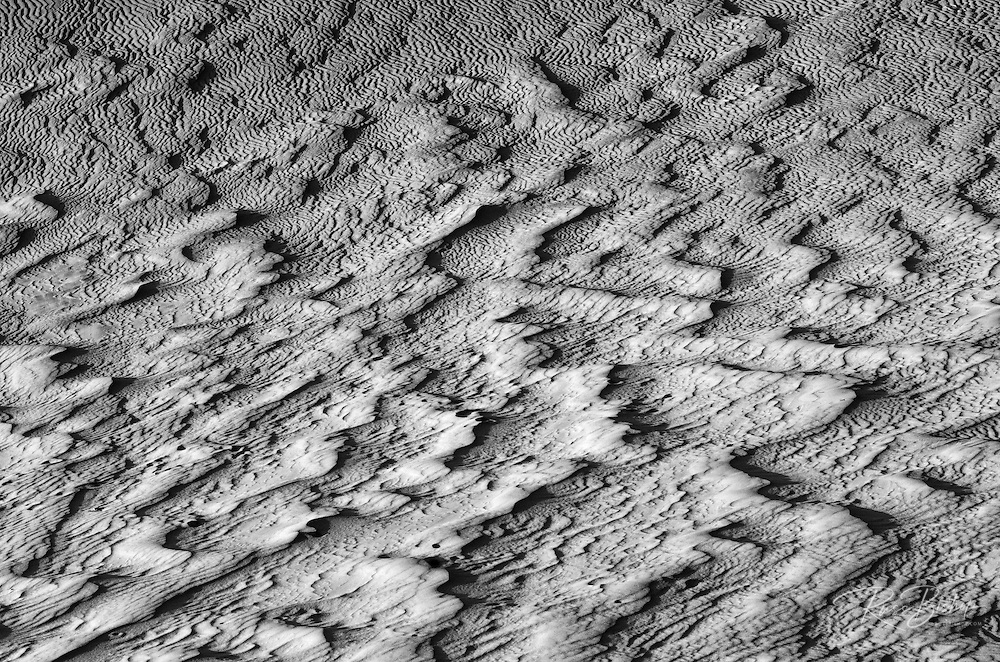 Dune patterns, White Sands National Monument, New Mexico