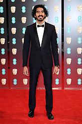Dev Patel attending the EE British Academy Film Awards held at the Royal Albert Hall, Kensington Gore, Kensington, London. Picture date: Sunday February 12, 2017. Photo credit should read: Doug Peters/ EMPICS Entertainment