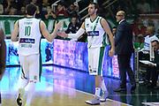 DESCRIZIONE : Avellino Lega A 2013-14 Sidigas Avellino-Pasta Reggia Caserta<br /> GIOCATORE : Dragovic Nikola<br /> CATEGORIA : cambio fair play <br /> SQUADRA : Sidigas Avellino<br /> EVENTO : Campionato Lega A 2013-2014<br /> GARA : Sidigas Avellino-Pasta Reggia Caserta<br /> DATA : 16/11/2013<br /> SPORT : Pallacanestro <br /> AUTORE : Agenzia Ciamillo-Castoria/GiulioCiamillo<br /> Galleria : Lega Basket A 2013-2014  <br /> Fotonotizia : Avellino Lega A 2013-14 Sidigas Avellino-Pasta Reggia Caserta<br /> Predefinita :