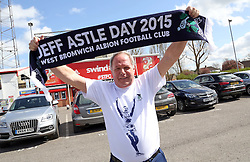 Peterborough United Director of Football shows his support for Astle Day in honour of Jeff Astle - Photo mandatory by-line: Joe Dent/JMP - Mobile: 07966 386802 - 11/04/2015 - SPORT - Football - Swindon - County Ground - Swindon Town v Peterborough United - Sky Bet League One