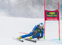 Manfred Moelgg of Italy during 1st run of Men's Giant Slalom race of FIS Alpine Ski World Cup 57th Vitranc Cup 2018, on 3.3.2018 in Podkoren, Kranjska gora, Slovenia. Photo by Urban Meglič / Sportida