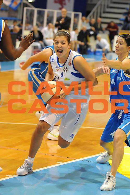 DESCRIZIONE : Faenza LBF Club Atletico Faenza GMA Phonica Pozzuoli<br /> GIOCATORE : Valeria Battisodo<br /> SQUADRA : Club Atletico Faenza<br /> EVENTO : Campionato Lega Basket Femminile A1 2009-2010<br /> GARA : Club Atletico Faenza GMA Phonica Pozzuoli<br /> DATA : 24/10/2009 <br /> CATEGORIA : penetrazione<br /> SPORT : Pallacanestro <br /> AUTORE : Agenzia Ciamillo-Castoria/M.Marchi