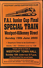 '10 years On' Westport United FAI Junior Cup winners.2005-2015