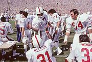 John Elway and Darrin Nelson, Stanford vs UCLA, 1980