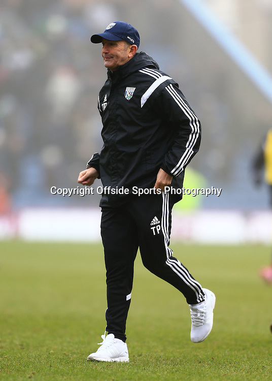 8th February 2015 - Barclays Premier League - Burnley v West Bromwich Albion - West Brom manager Tony Pulis - Photo: Simon Stacpoole / Offside.