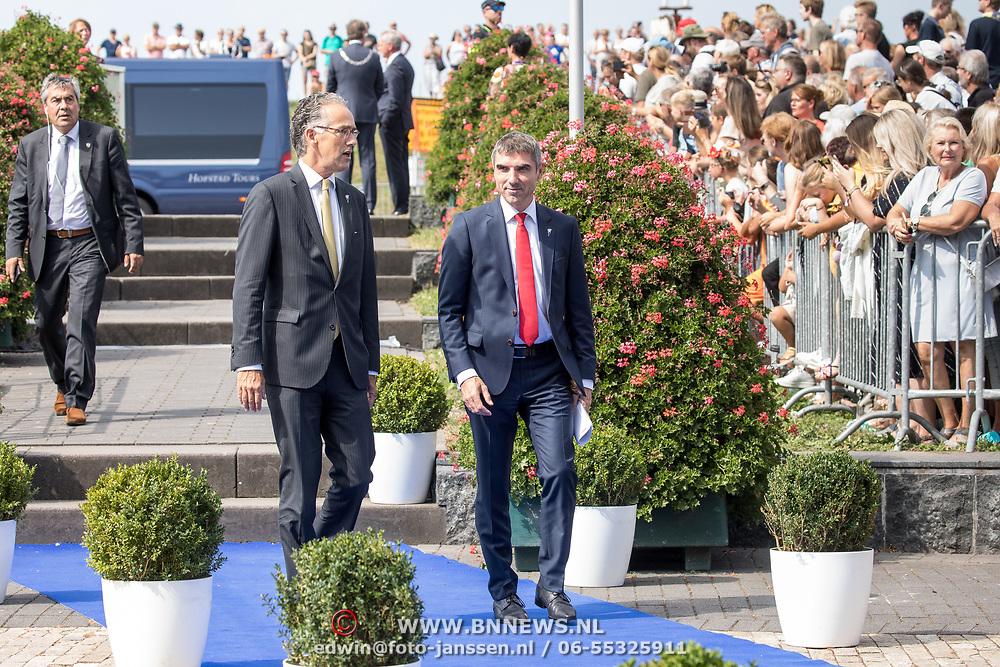 NLD/Terneuzen/20190831 - Start viering 75 jaar vrijheid, Paul Blokhuis