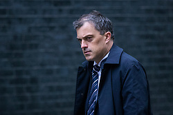 © Licensed to London News Pictures. 30/04/2018. London, UK. Conservative Chief Whip Julian Smith on Downing Street. Prime Minister Theresa May is preparing to appoint a new Home Secretary after Amber Rudd resigned from the position on Sunday 29 April. Photo credit: Rob Pinney/LNP