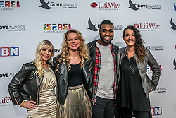 October 11, 2016 - Nashville, Tennessee, USA - The Cantinas Foundation at the 47th Annual GMA Dove Awards  in Nashville, TN at Allen Arena on the campus of Lipscomb University.  The GMA Dove Awards is an awards show produced by the Gospel Music Association. (Credit Image: © Jason Walle via ZUMA Wire)