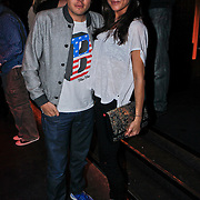 NLD/Amsterdam/20110214 - Onthulling nieuwe pump Chick Shoes ism I Love Fashion News, Jaap Reesema en partner Bo Mulder