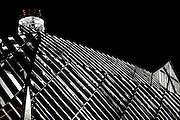 © Filippo Alfero<br /> Centrale termica teleriscaldamento Politecnico Corso Ferrucci Torino<br /> Torino, 03/06/2009<br /> Nella foto: vista parziale notturna della centrale