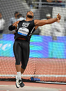 Reggie Jagers (USA) places fourth in the discus at 212-10 (64.89m) during the IAAF Doha Diamond League 2019 at Khalifa International Stadium, Friday, May 3, 2019, in Doha, Qatar (Jiro Mochizuki/Image of Sport)