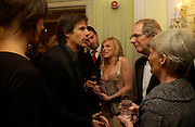 Walter Salles, Raife Burdell, Eva Birthistle, Ken Loach and  Mrs.. 25th  annual Awards of the London critic's Circle in aid of the NSPCC. The Dorchester. Park Lane. London. 9 February 2005. ONE TIME USE ONLY - DO NOT ARCHIVE  © Copyright Photograph by Dafydd Jones 66 Stockwell Park Rd. London SW9 0DA Tel 020 7733 0108 www.dafjones.com