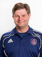 ZEIST- Eric van der Pol,assistent coach van Nederlands Jongens B. FOTO KOEN SUYK