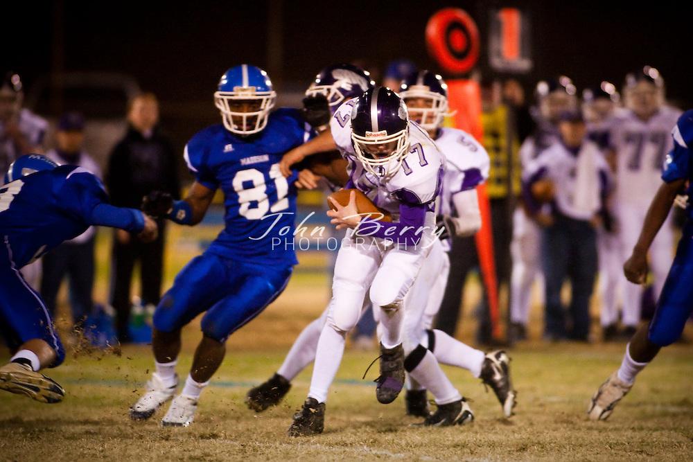 MCHS Varsity Football .vs Strasburg Rams .10/31/2008
