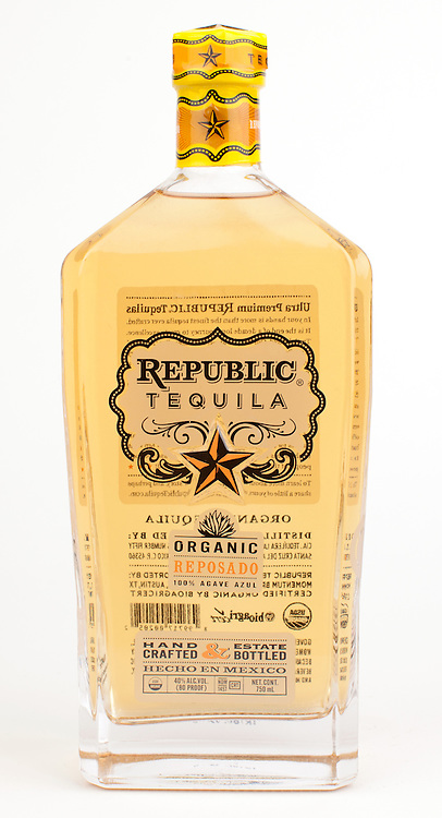 Republic Tequila reposado -- Image originally appeared in the Tequila Matchmaker: http://tequilamatchmaker.com