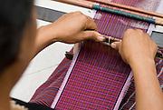 Ikat weaving detail, Todo village, Manggarai, Flores