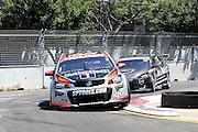 Garth Tander (Holden Racing Team). Coates Hire Sydney 500. V8 Supercars Championship. Homebush Street Circuit, NSW. 5-6 Devember 2015. Photo: Clay Cross / photosport.nz