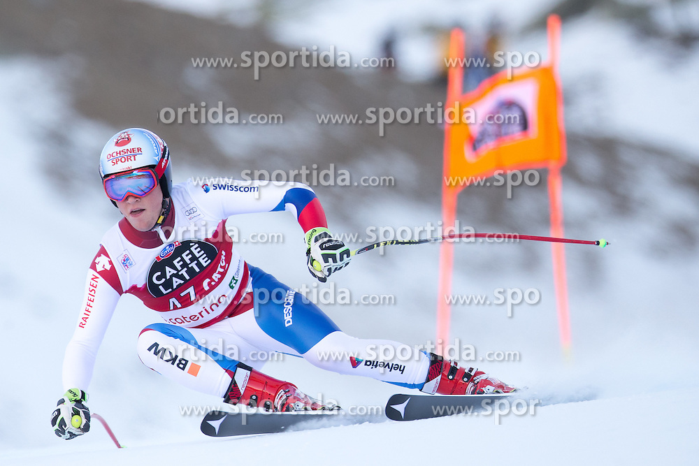 28.12.2015, Deborah Compagnoni Rennstrecke, Santa Caterina, ITA, FIS Ski Weltcup, Santa Caterina, Abfahrt, Herren, 2. Training, im Bild Niels Hintermann (SUI) // Niels Hintermann of Switzerland in action during the 2nd practice run of men's Downhill of the Santa Caterina FIS Ski Alpine World Cup at the Deborah Compagnoni Course in Santa Caterina, Italy on 2015/12/28. EXPA Pictures © 2015, PhotoCredit: EXPA/ Johann Groder