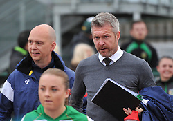 Willie Kirk manager of Bristol City Women - Mandatory by-line: Paul Knight/JMP - 30/09/2017 - FOOTBALL - Stoke Gifford Stadium - Bristol, England - Bristol City Women v Yeovil Town Ladies - FA Women's Super League 1