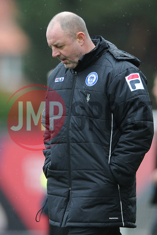Rochdale Manager, Keith Hill - Photo mandatory by-line: Dougie Allward/JMP - Mobile: 07966 386802 - 28/02/2015 - SPORT - football - Bristol - Ashton Gate - Bristol City v Rochdale AFC - Sky Bet League One