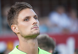 06.08.2014, Sportplatz, Fügen, AUT, Testspiel, VfB Stuttgart vs Caykur Rizespor, im Bild Sven Ulreich (VfB Stuttgart)// during a friendly Match between VfB Stuttgart and Caykur Rizespor at the Football Stadium in Fügen, Austria on 2014/08/06. EXPA Pictures © 2014, PhotoCredit: EXPA/ Jakob Gruber