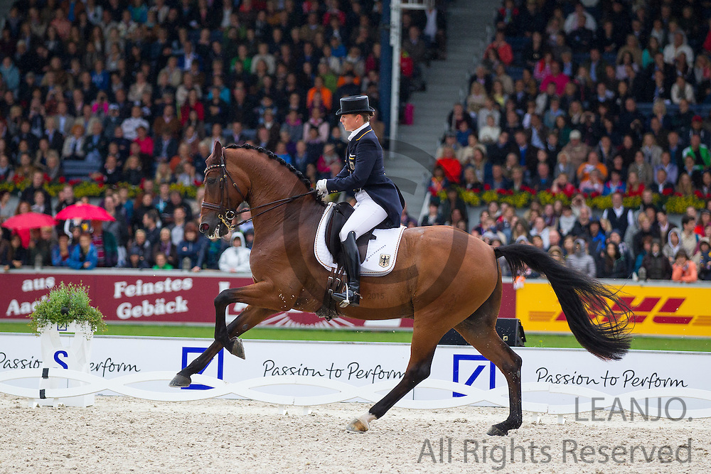 Isabell Werth - Don Johnson<br /> FEI European Championships Aachen 2015<br /> &copy; DigiShots