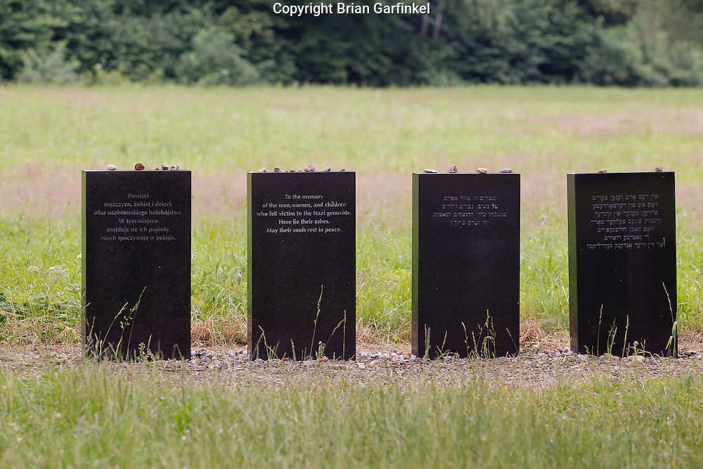 A memorial to the victims at Auschwitz-Birkenau Concentration Camp in Poland on Tuesday July 5th 2011.  (Photo by Brian Garfinkel)