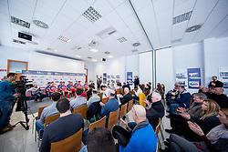 Mojca Novak during press conference of KK Adria Mobil Cycling Club before new season 2018, on February 22, 2018 in Novo mesto, Slovenia. Photo by Vid Ponikvar / Sportida