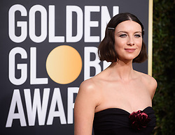 January 6, 2019 - Beverly Hills, California, United States of America - Golden Globe nominee Caitriona Balfe attends the 76th Annual Golden Globe Awards at the Beverly Hilton in Beverly Hills, California on  Sunday, January 6, 2019. HFPA/POOL/PI (Credit Image: © Prensa Internacional via ZUMA Wire)