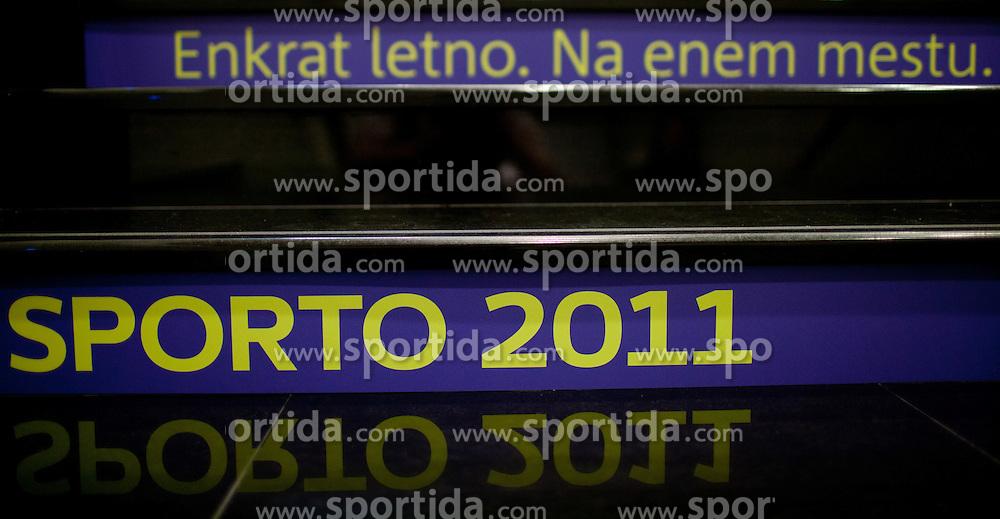 during sports marketing conference Sporto 2011, on November 21, 2011 in Hotel Slovenija, Portoroz / Portorose, Slovenia. (Photo By Vid Ponikvar / Sportida.com)