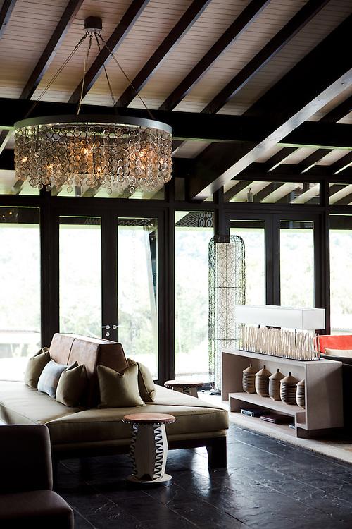 Nyungwe Forest Lodge, interior, Rwanda
