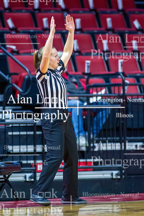NORMAL, IL - November 05:  Abby Burmeister during a college women's basketball game between the ISU Redbirds and the Truman State Bulldogs on November 05 2019 at Redbird Arena in Normal, IL. (Photo by Alan Look)