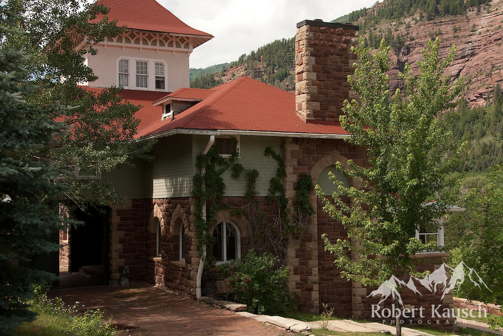 Tours are available at the Redstone Castle - a fun way to learn some history of the valley.