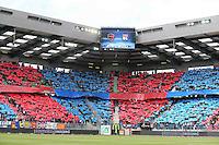 SUPPORTERS CAEN - 09.05.2015 -  Caen / Lyon  - 36eme journee de Ligue 1<br />Photo : Vincent Michel / Icon Sport