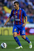 VALENCIA, SPAIN - JUNE 01: David Navarro of Levante UD in action during the Liga BBVA between Levante UD and Real Betis Balompie at the Ciutat de Valencia stadium on June 01, 2013 in Valencia, Spain. (Photo by Aitor Alcalde Colomer).