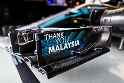 September 29, 2017 - Sepang, Malaysia - Motorsports: FIA Formula One World Championship 2017, Grand Prix of Malaysia, .technical detail, Mercedes AMG Petronas F1 Team  (Credit Image: © Hoch Zwei via ZUMA Wire)