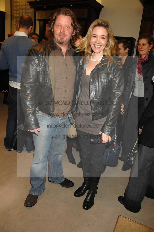 CHARLEY &amp; OLLY BOORMAN at a party to celebrate the launch of the book 'Long Way Down' by Ewan McGregor and Charley Boorman held at Smythson, 40 New Bond Street, London W1 on 19th November 2007,<br /><br />NON EXCLUSIVE - WORLD RIGHTS