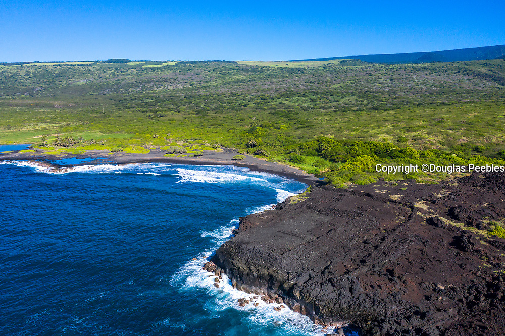 Ke'eku Heiau, Kawa Bay, Kau, The Big Island of Hawaii