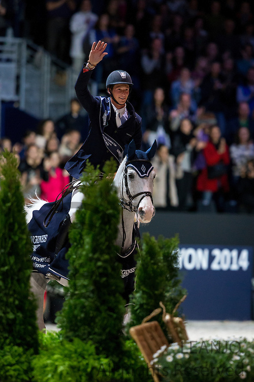 Daniel Deusser - Cornet d'Amour, winner Longines FEI World Cup Final<br /> FEI World Cup Final 2014<br /> &copy; DigiShots