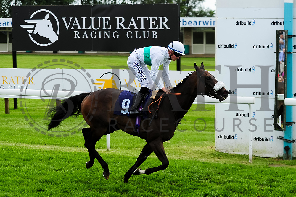 Gallatin ridden by David Probert and trained by Andrew Bilding in the Weatherbys Racing Bank Foreign Exchange Handicap (Class 4) race. - Ryan Hiscott/JMP - 21/08/2019 - PR - Bath Racecourse - Bath, England - Race Meeting at Bath Racecourse