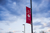Think and Do the Extraordinary banners fly on Centennial Campus.