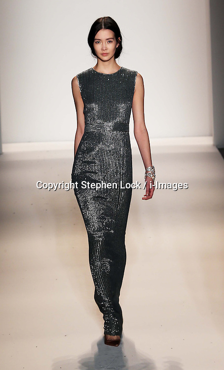Jenny Packham  show  at New York Fashion Week for Autumn/Winter 2013 , Tuesday, February 12th 2013. Photo by: Stephen Lock / i-Images