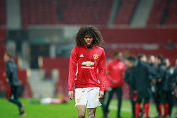 © Licensed to London News Pictures . 12/12/2016 . Manchester , UK . TAHITH CHONG leaves the pitch at the final whistle . Manchester United vs Southampton FA Youth Cup Third Round match at Old Trafford . Photo credit : Joel Goodman/LNP