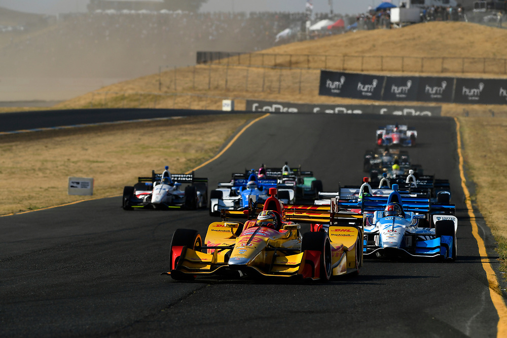 Verizon IndyCar Series<br /> GoPro Grand Prix of Sonoma<br /> Sonoma Raceway, Sonoma, CA USA<br /> Sunday 17 September 2017<br /> Ryan Hunter-Reay, Andretti Autosport Honda<br /> World Copyright: Scott R LePage<br /> LAT Images<br /> ref: Digital Image lepage-170917-son-10969