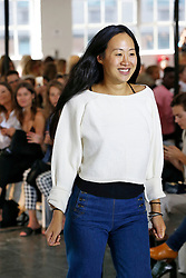 Designer Jade Lai on the runway during the Creatures of Comfort Fashion show at New York Fashion Week Spring Summer 2018 held in New York, NY on September 7, 2017. (Photo by Jonas Gustavsson/Sipa USA)