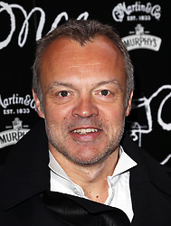 Graham Norton  arriving for the opening night of the West End production of the Broadway hit musical Once in London ,Tuesday, 9th April 9th 2013 Photo by: Stephen Lock / i-Images