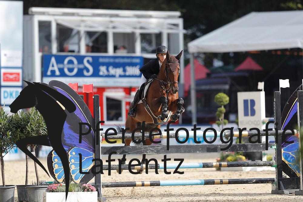 Wulff, Lesley (GER) Winnjess Opal Moon<br /> Paderborn - Paderborn Challenge 2016<br /> © www.sportfotos-lafrentz.de