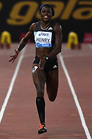 Desiree HENRY GBR 100m Women <br /> Roma 03-06-2016 Stadio Olimpico <br /> IAAF Diamond League Golden Gala <br /> Atletica Leggera<br /> Foto Andrea Staccioli / Insidefoto